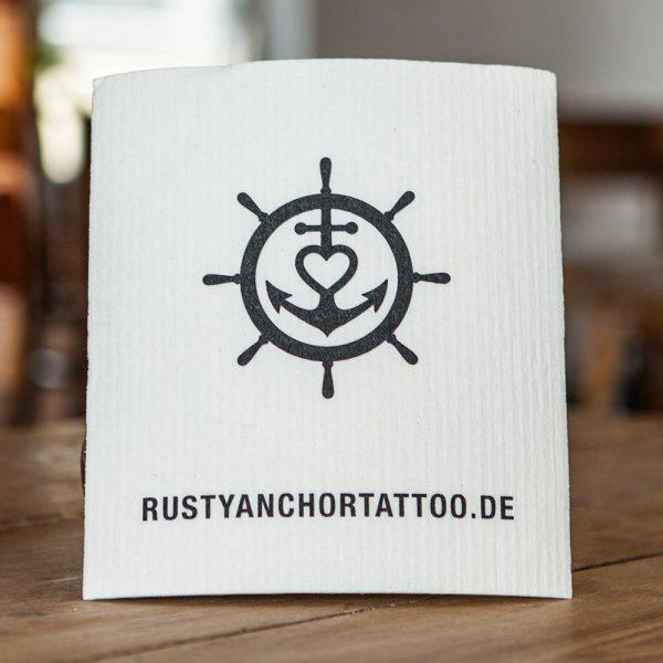 Schwammtuch mit eigenem Logo